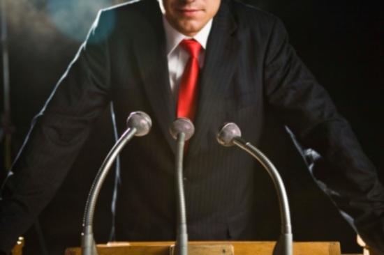 Speech photo